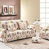 RUGAI-UE Sofa Slipcover sofa full cover sofa cover full sofa cushion sofa cloth covers four non slip,Four seater 235-310cm,Twilight youth