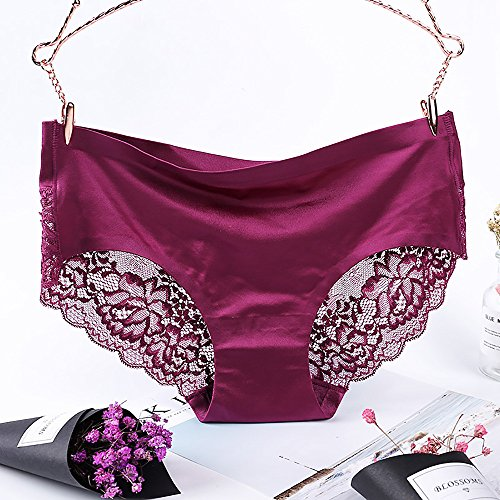 ZARLLE Braguitas Mujer Ropa Interior Secret Hug Sexy Bikini Bragas Tanga CóModo Pantalones De Mujer SeñOras Sexy Encaje Bikini Ropa Interior: Amazon.es: ...