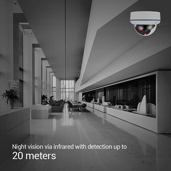 Amazon com: Ctronics 224C&245C WIFI IPC (Dome 720): Camera