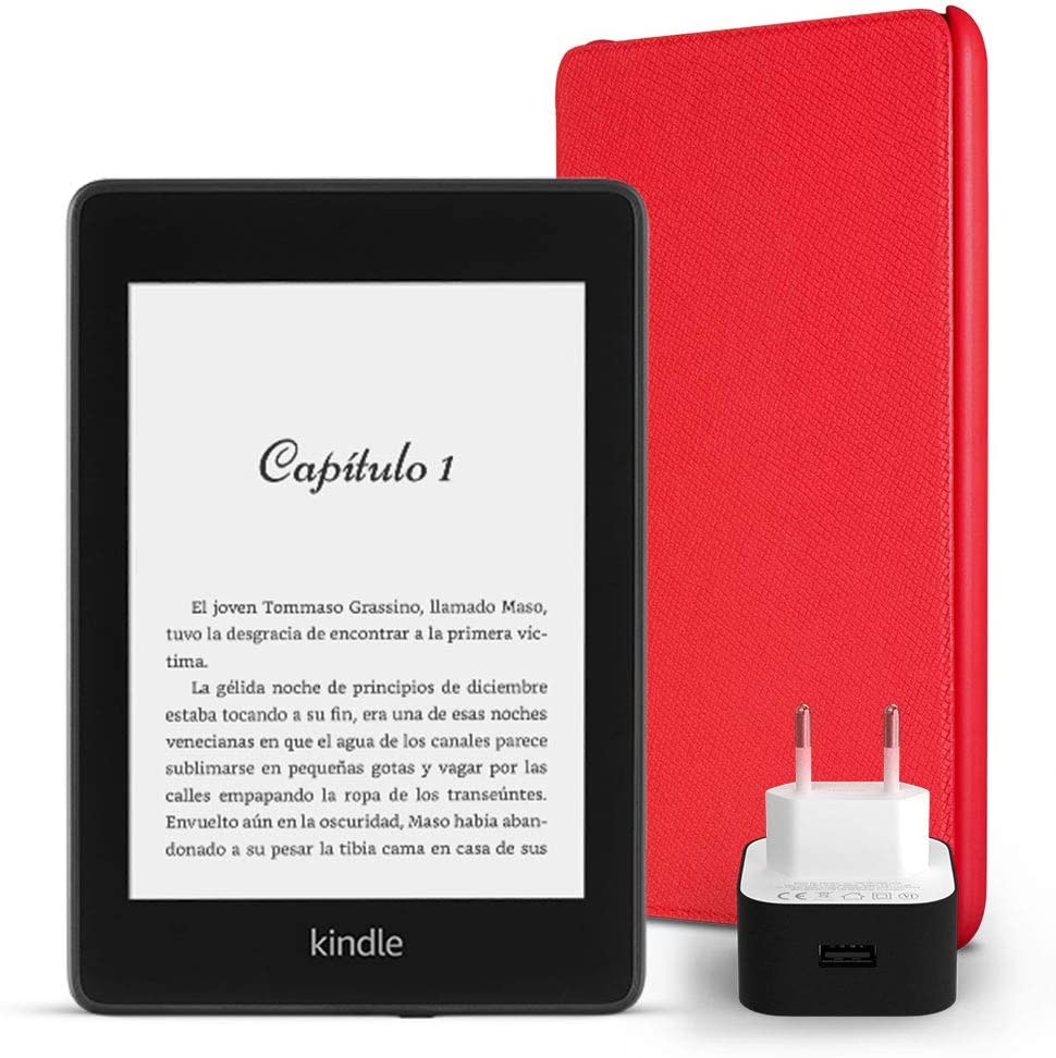 Kit Esencial Kindle Paperwhite, incluye un e-reader Kindle ...
