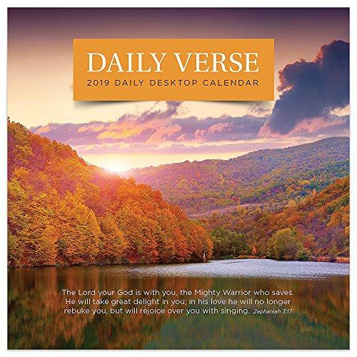 2019 Daily Verse Daily Desk Calendar ()