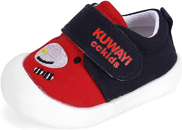Toddler Baby Boy Girl Soft Crib Shoes Leather Sneakers Anti-slip Trainers n