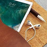 Funda De Piel Café Claro Para Nuevo iPad 9.7, Pro 10.5 & Pro 12.9 Pulgadas, Estuche Con Bolsillo Para Lápiz De Apple, Regalos Con Monograma Personalizados Para Hombre//DRAFTSMAN 1 HAVANA