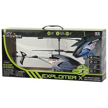 Sky Rover - Helicóptero teledirigido de 6 vías y 3 Canales, Exploiter - 48 x 33 x 21 cm (ColorBaby 41845): Amazon.es: Juguetes y juegos