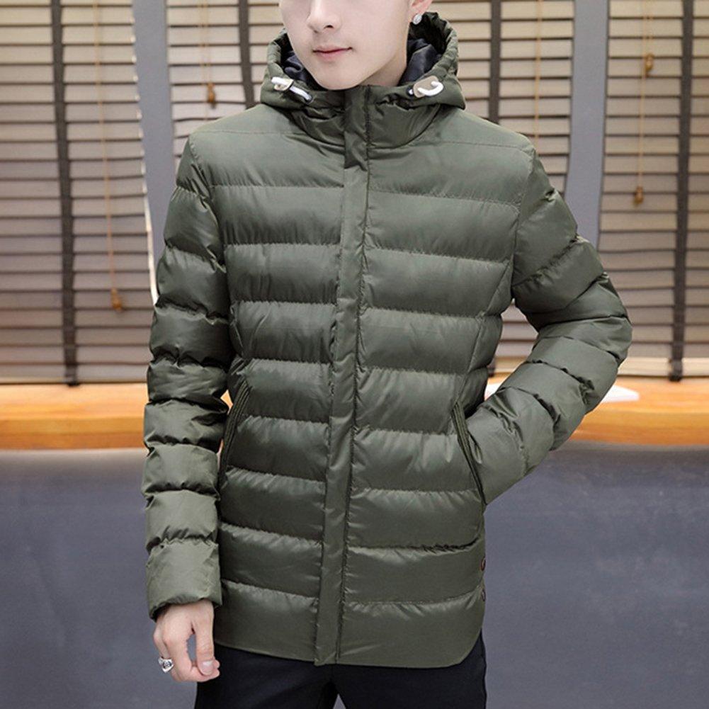 Qitun Herren Leichte Daunenjacke Ultraleicht Packbar Winterjacke Mit Kapuze