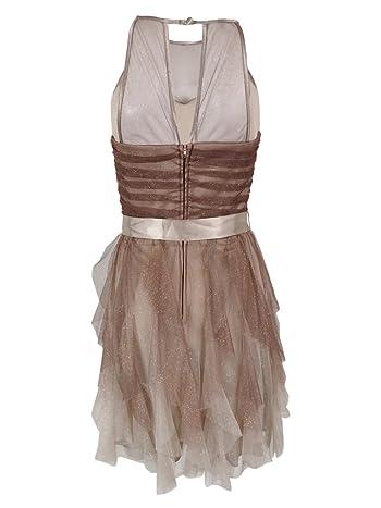 Juniors' Sleeveless Glitter Dress