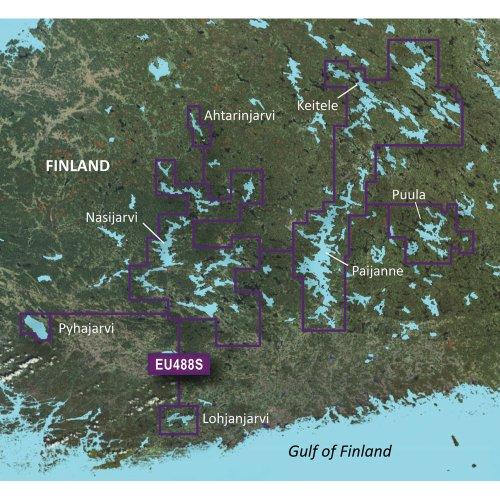 Garmin Bluechart G2 - HXEU488S - Keitele - Paijanne - Tampere - MicroSD & SD