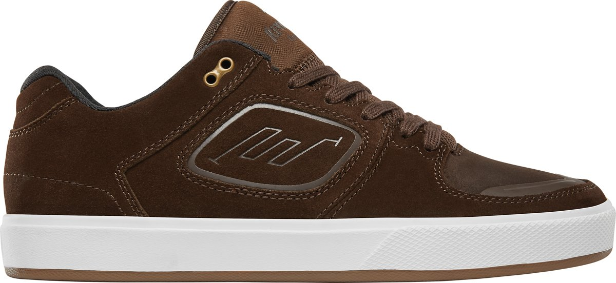 Emerica Men's Reynolds G6 Skate Shoe 14 D(M) US|Brown/White