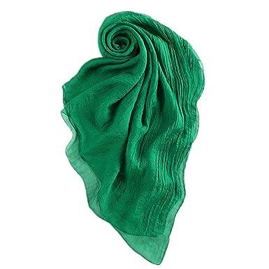 Écharpe D Été Volé En Mousseline De En Soie Tissu Foulards Robe De  Vêtements Chics cf87a43f7d7