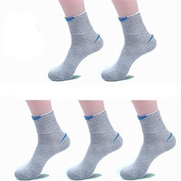 zhaoaiqin 5 Pares, Calcetines de los Deportes, Calcetines de los Hombres, Juventud Resorte