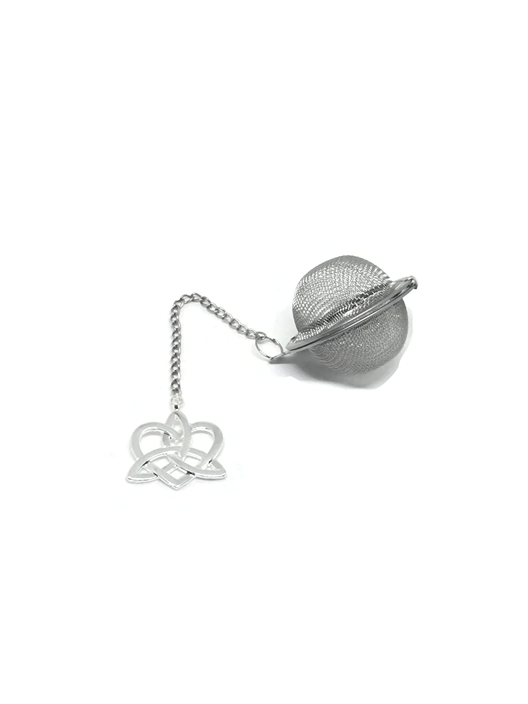Tea Infuser Ball with Celtic Heart Weight Handmade Yoga Loose Tea Infuser