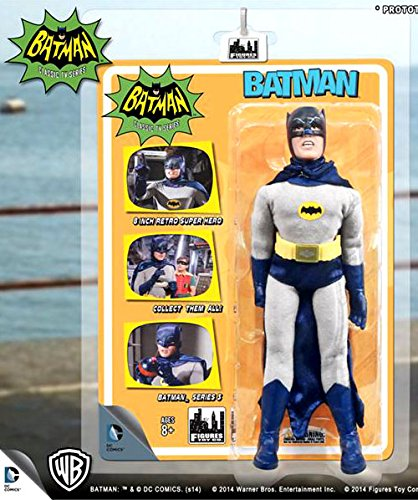 Batman Classic TV Series 8 Inch Action Figures Series 3: Batman (New...