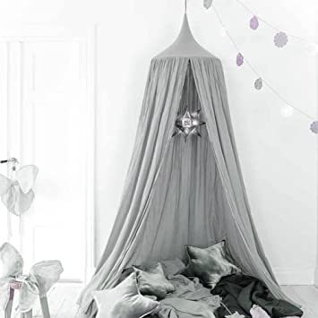 Bed Canopy For Children Cotton Mosqutio Net Hanging Curtain Baby Indoor Outdoor Play Reading