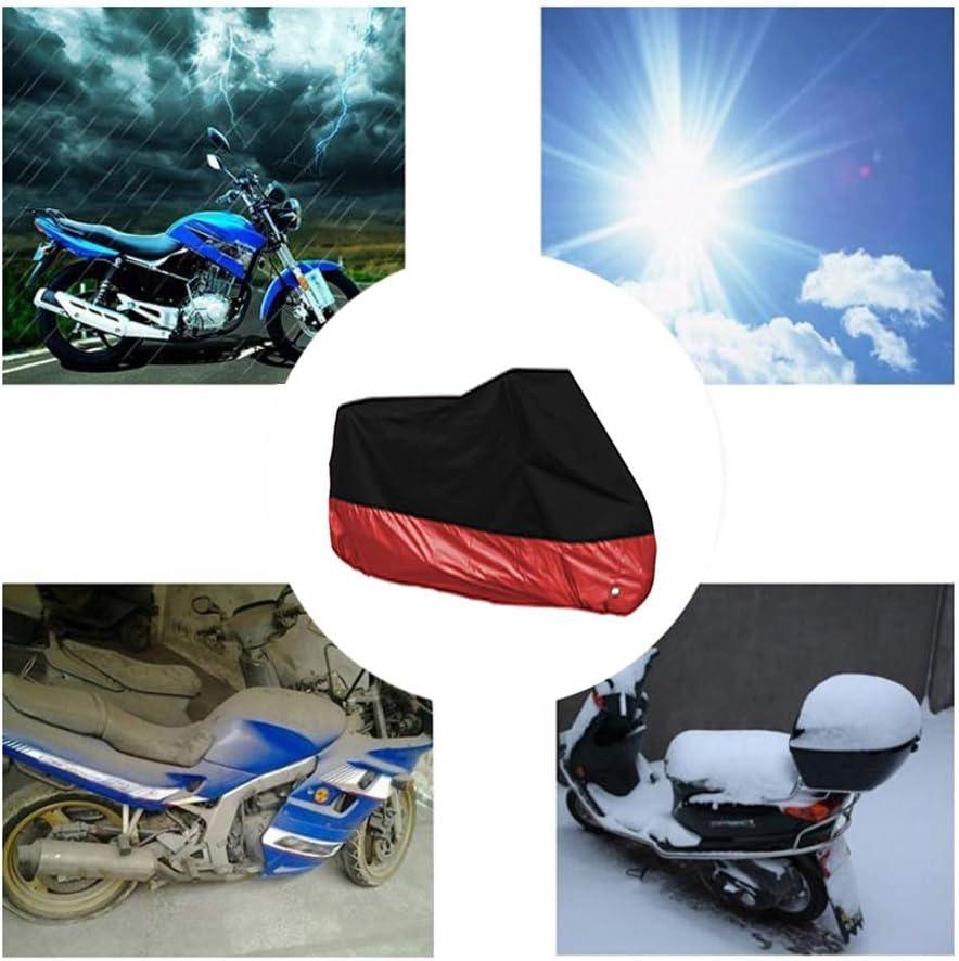 YXPDCZ Housses de Moto Compatible avec la Couverture Moto BMW R 1250 GS Adventure All Season imperm/éable cr/ème Solaire antisalissure Ext/érieur Int/érieur 190T Housse for Moto 7colors