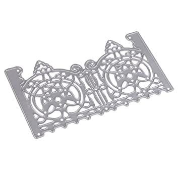 Gate Frame Decor Metal Cutting Dies Stencils For Scrapbooking Paper Cards RS
