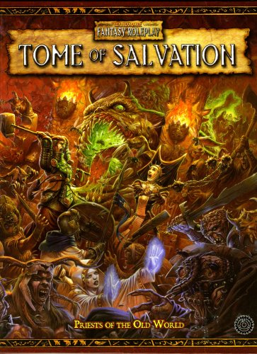 Book cover from Warhammer RPG: Tome of Salvation (Warhammer Fantasy Roleplay) by Eric Cagle