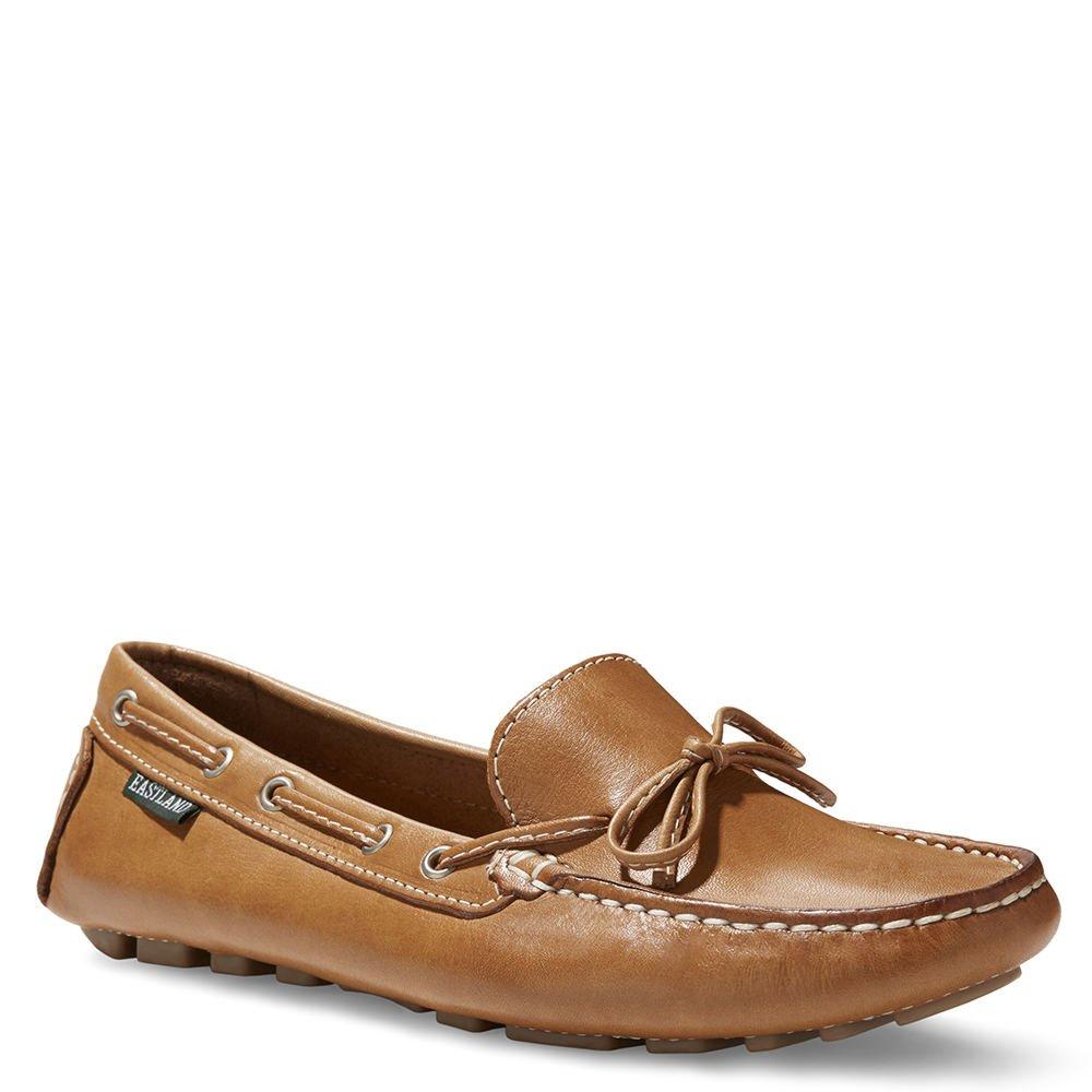 Eastland Women's Marcella Driving Style Loafer, Camel, 11 Medium US