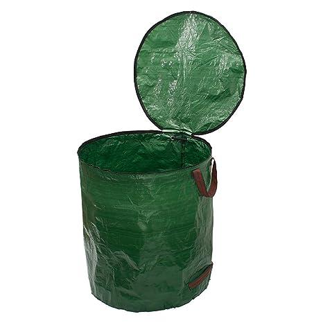 Bolsas de basura de jardín verde Bolsa de hojas de plantas ...
