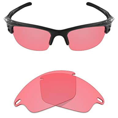 f6896daa6d MRY POLARIZED Replacement Lenses for Oakley Fast Jacket Sunglasses -  Options (HD Pink