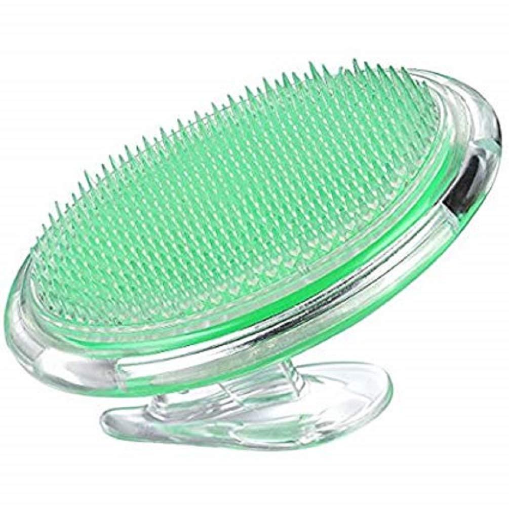 Mdeper Exfoliating Brush Dry Skin Body Brush Eliminate Shaving Irritation for Face, Neck, Armpit, Bikini Line, Legs, to Treat and Prevent Legs Armpit and Ingrown Hair Treatment.