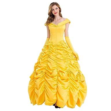 La Belleza de Halloween para Adultos y la Bestia Traje de Princesa ...