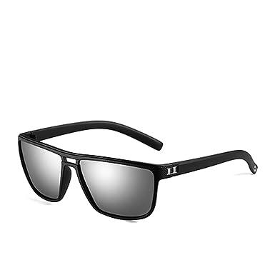 4a8f5ca8ea Sunglasses For Men Wayfarer Men s Plastic Sun Glasses Driving Eyewear C1  MatteBlack Mirror