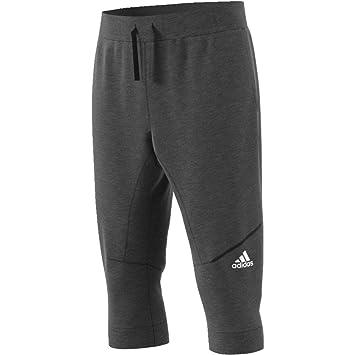 adidas Cross-Up Pa Pantalón 3/4 de Baloncesto, Hombre, Negro (