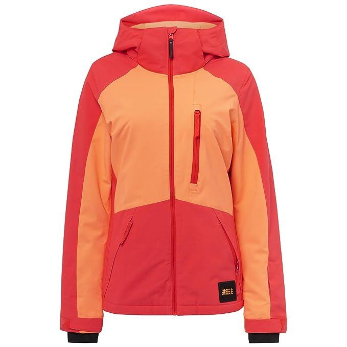 Ropa de esquí neón chaqueta mujer O´Neill