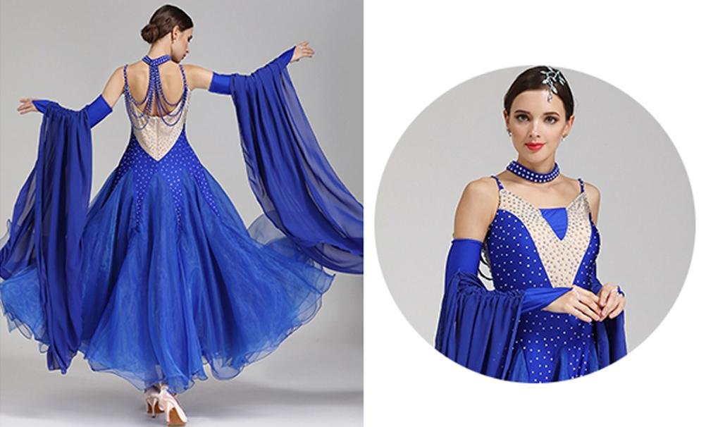 Wangmei Moderner Tanzrock Kostüm Für Frauen Nationale Standard Standard Standard Tanzkleider Wettbewerb Kleid Mit Strass B078JMKTZS Bekleidung Auktion b16d94