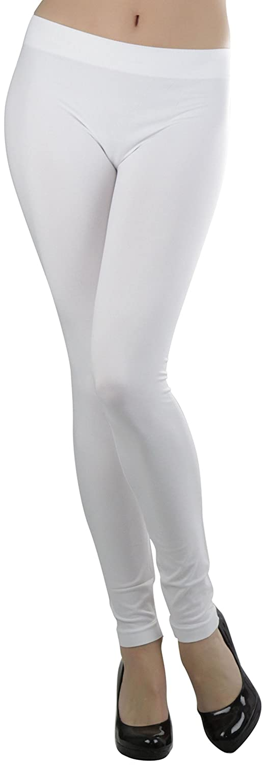 To Be In Style Women's Seamless Ankle Length Leggings by To Be In Style