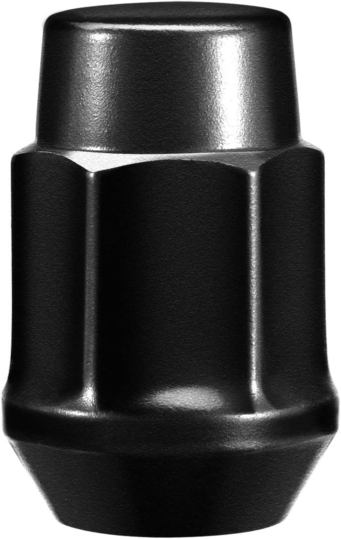 GSSUSA Black Lug Nuts 1//2 x 20 Bulge Closed End Acorn Cone Seat 3//4 Hex Car Wheel Accessories Lug Nut 20 Pack