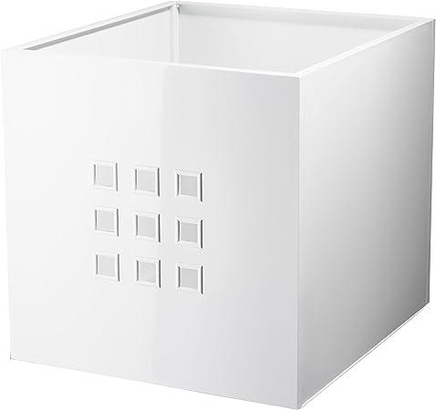 Lekman Boite De Rangement A Assembler Soi Meme Ikea Blanc 33 X 37 X 33 Cm Amazon Fr Cuisine Maison
