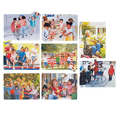 Celebrating Children Puzzles Set of Eight 16 pc. Puzzles ()