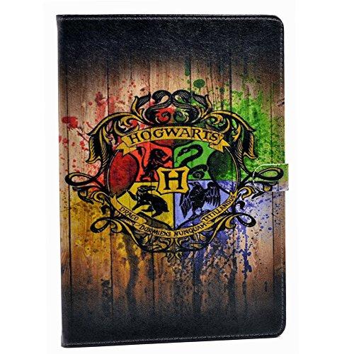 iPad 2017 iPad 9.7 inch Case Hogwarts Watercolor Art Pattern