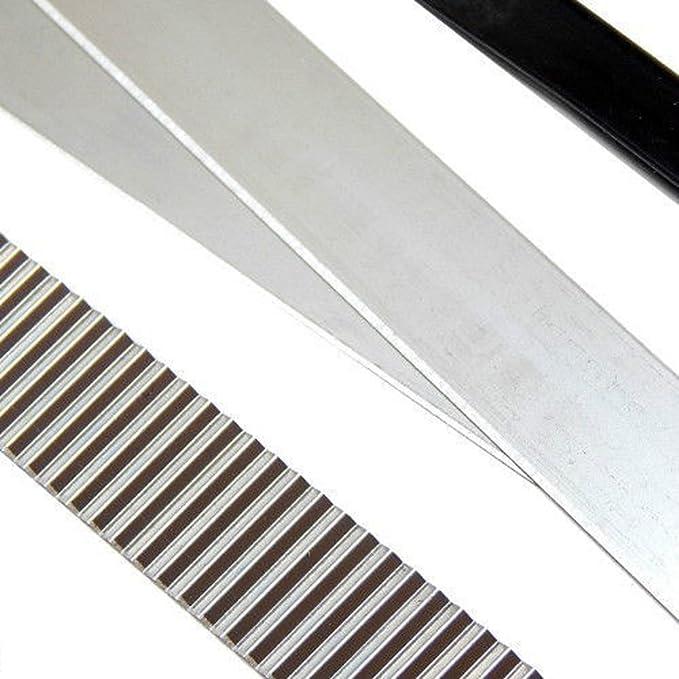 1pc 4 /'/' Edelstahl Utility Blade Schneidwerkzeug Flexible Polymer Clay Cut