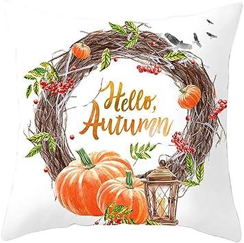 Ncenglings Kissenbezug Halloween Drucken Theme 45 X 45cm