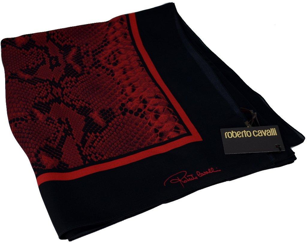 Roberto Cavalli Women Silk Scarf Shawl Made Italy /écharpe femme foulard c3s07d200/420