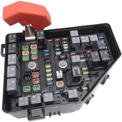 amazon com: 2013-14 gmc acadia w/hid headlamps loaded fuse & relay box  22933345: automotive