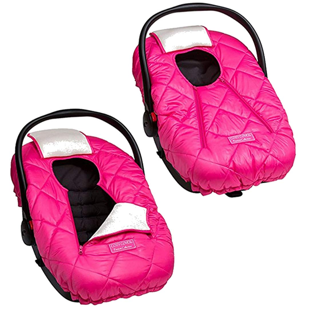 Amazon Com Cozy Cover Premium Infant Car Seat Cover Pink With