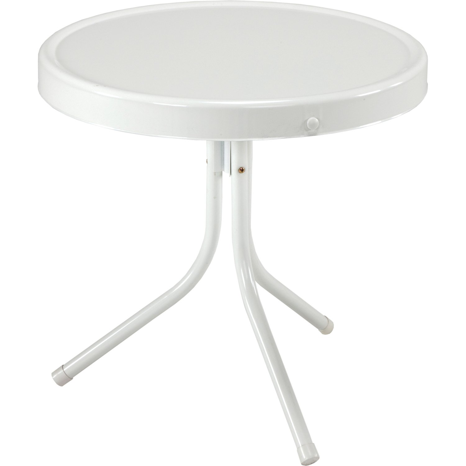 Amazon Jack Post BH 2W Retro Table 20 1 2 by 20 Inch White
