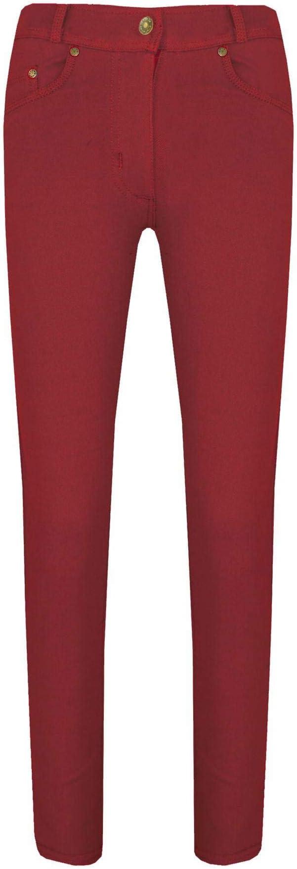 A2Z 4 Kids/® Girls Skinny Jeans Kids Lemon Stretchy Denim Jeggings Fit Pants Trousers 5-13 Yr