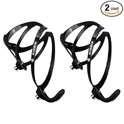 BIKEIN Bicycle Water Bottle Holder - Ultralight UD Carbon Black Road  Mountain Bike Bottle Cage MTB Parts 25g/Piece