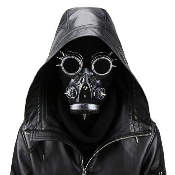 KERVINFENDRIYUN YY4 Biohazard Steampunk Máscara de Gas Gafas ...