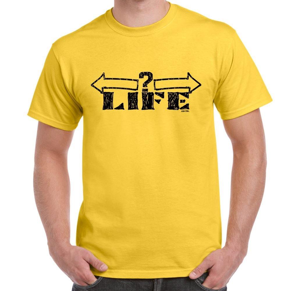 Herren Lustige Sprüche coole fun T Shirts-Life? tshirt: Amazon.de ...