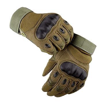 Amazon.com: LALATECH Guantes de moto para hombre, guantes de ...
