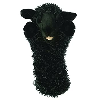 Amazon Com The Puppet Company Long Sleeves Black Sheep Hand Puppet