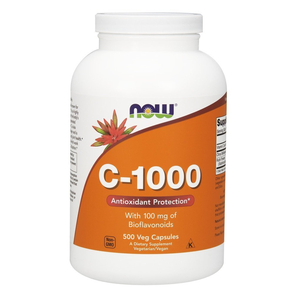 Now Supplements, Vitamin C-1000, 500 Veg Capsules by NOW Foods