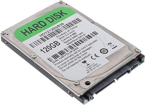 OUYAWEI PC Hard Drive HDD 5400rpm Cache SATA 2.5 Laptop Hard Drive 120GB