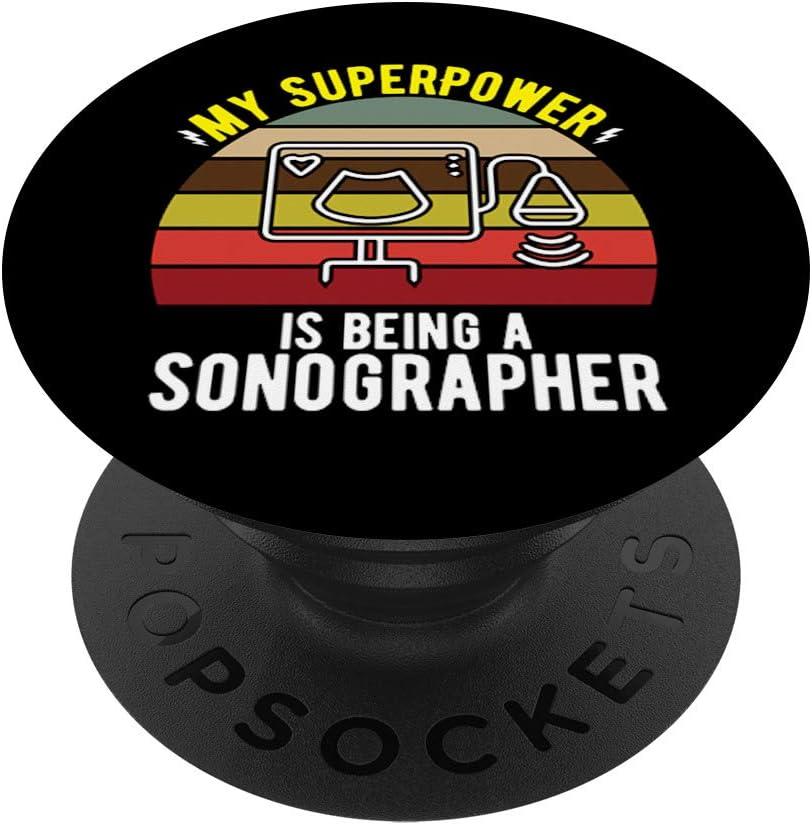 Keep Calm Soy un técnico de ultrasonido Ultrsound PopSockets Agarre y Soporte para Teléfonos y Tabletas