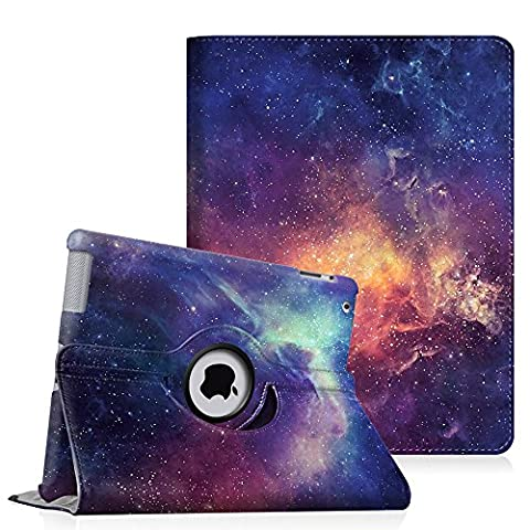 Fintie Apple iPad 2/3/4 Case - 360 Degree Rotating Stand Smart Case Cover for iPad with Retina Display (iPad 4th Generation), iPad 3 & iPad 2 (Automatic Wake/Sleep Feature) - (Original Ipad 4 Case)